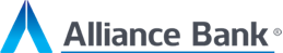 Alliance Bank logo.
